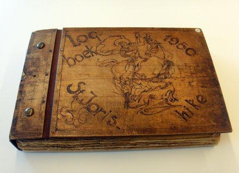 Het logboek.