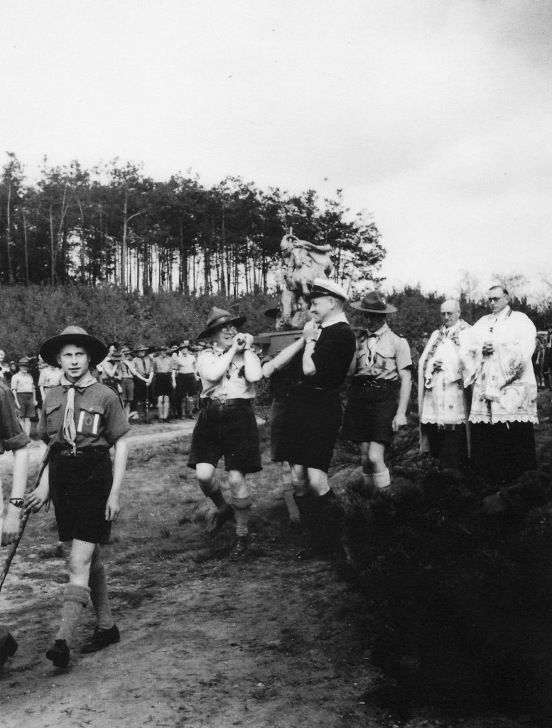 Vertrek van St Walrick 23 april  1950